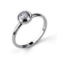 Italina Round Ring Made with Shining Crystal Wholesale Hot 2014 Style