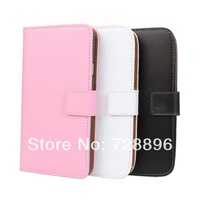 For Samsung Galaxy Note 3 N7000 leather wallet mobile phone holster around Conspire cabinet Free Shipping-SX119