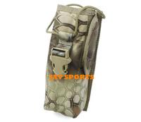 TMC tactical MOLLE pouch for radio prc148 radio pouch Kryptek mandrake fabrics+Free shipping(SKU12050266)