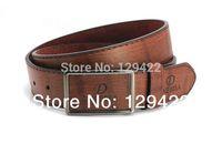 Wholesale Free shipping The new counter genuine leather belt men's belt buckle end men's leather belt Men 8055