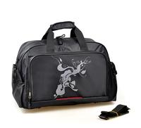 Large capacity black gray sport casual  travel bag sports luggage handbag gym shoulder bags