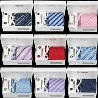 2014 High Quality 100% Silk Neck Tie Set (No Gift Box) Brand Men's Embroidered Necktie Gravata