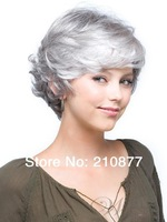 The Charming Capless Synthetic Short Wavy Synthetic Hair Full Wig Sets Off A Sweet Wind