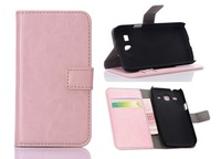 Newest for Samsung Galaxy Core Plus G3500 mobilephone case PU Leather wallet smart cover