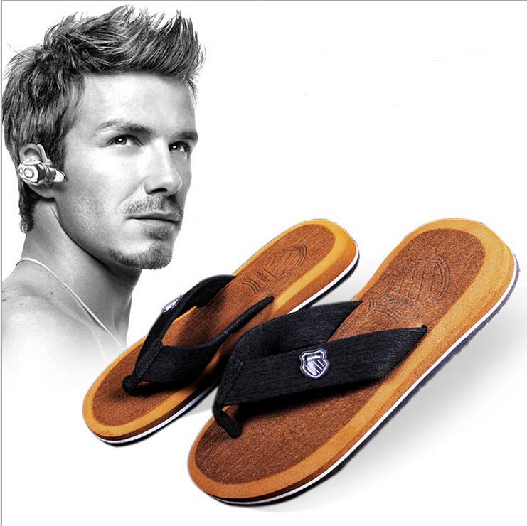 New 2015 Summer Men Sandals,Soft Flip Flops,EVA Massage Beach Flat Shoes For Men Size 40-44(China (Mainland))