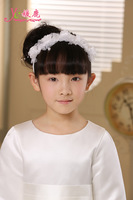 Quality child accessories flower girl headband little girl hair accessory accessories female child three-color hair accessory