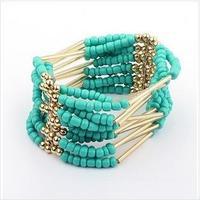 Bohemian amorous feelings tassel meters bead bracelet