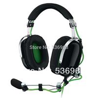 Free shipping Original Razer Kraken Pro 3.5mm jack Gaming Headset for PC Game Concertina Microphone Dota 2 Consumer Headphones