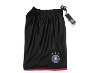 2014 Brazil World Cup Germany soccer shorts away black Top thailand quality Germany shorts Free shipping