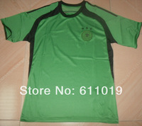 Free shipping Germany green goalkeeper world cup jersey 2014 high quality thai version jersey