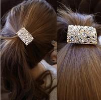 $15 Free Shipping Hot Sale New Arrival Hair Band Headbands For Women Rhinestone Hairpins Tiara Headwear Crystal Tire