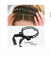 $15 Free Shipping Wholesale Hot Sale Weave Tiara Noiva Hairbands Trendy Hair Band Ribbon Bridal Accessories Knit Headband