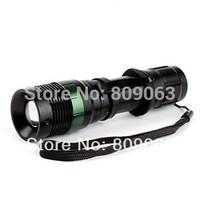 Free shipping Uniquefire W109 Cree XR-E Q5 1600LM 3-Mode 3xAAA Zoom LED Flashlight