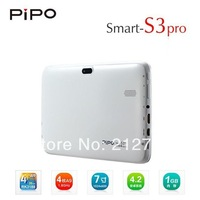 PiPo S3 Pro Andriod 4.2 Tablet PC 7 inch RK3188 Quad Core 1GB/16GB Bluetooth GPS WIFI Dual Cameras HDMI 1024x600 pixels