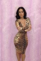 alibaba express party dresses plus size women clothing sexy club dress bodycon dressesTiger  women work wear clothes size S M L