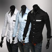 Мужские изделия из кожи и замши New Men's Suit PU Leather Jacket Man Products Mens Fashion Transverse Slim Leather Jackets For Men 3 Color Plus Size M-XXL