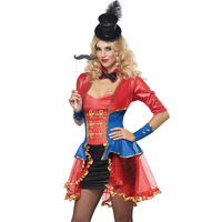 Paragraph short-sleeve red set queen costumes costume 8791
