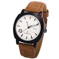 2014 NEW CURREN 3ATM Waterproof Quartz Business Men's Watches,Men's Military Watches,Men's Leather strap Watches