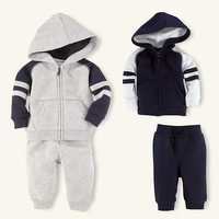 Classic boy suit High quality boy suit 2 sets: Long sleeves top + long pant Striped design On selling
