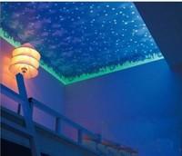 Wallpaper 3d blue sky dream neon wallpaper child bedroom wallpaper roll sky wallpaper for ceilings 5.3m2