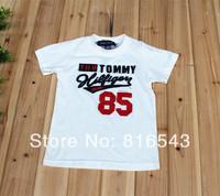 5 PCS/LOT Brand children t shirts 2014 new Boys clothes Short sleeve O-Neck Letter Boy's t shirt atacado roupas infantil