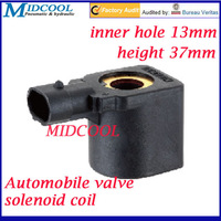 Automobile valve series 12V DC solenoid coil inner hole 13mm height 37mm Plug type