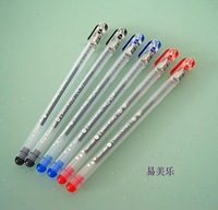 Chenguang ballpoint pen blue 0.5mm gift (pen design may defferent every time )12pcs/lot free shipping