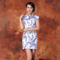 Cheongsam vintage slim no vent of improved cheongsam chinese style dress fashion elegant sexy