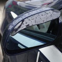 Universal car Rainproof Blades rear view mirror rain eyebrow block can bend 4 pcs/lot (2 packs) Wholesale
