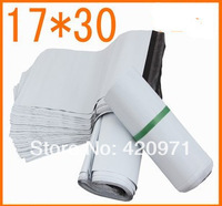 17cm*30cm PE New Metarial Waterproof and Biodegradable Plastic Express bags postal Poly Bags Delivery Mail bags free Shipping