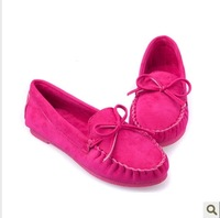 2014 new singles shoes casual summer fashion personality Korean wild bow flat shoes women shoes