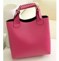 2014 Women Shoulder bag New Hot Popular Retro Handbag Fashion Woven Belt Handle