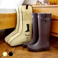 High grade non-woven fabrics boots cover storage bag L 24*29*47cm