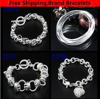 Designer Brand Women's Bracelets Fashion Women Jewelry Link Chain Charm Bangles  Free Shipping 1pcs