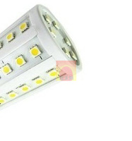 8W Led lamp 2PCS/LOT 220v  E27 5050 SMD 800LM 360 degree 54 LED Corn Bulb Warm White / white  led Light Lamp free shipping