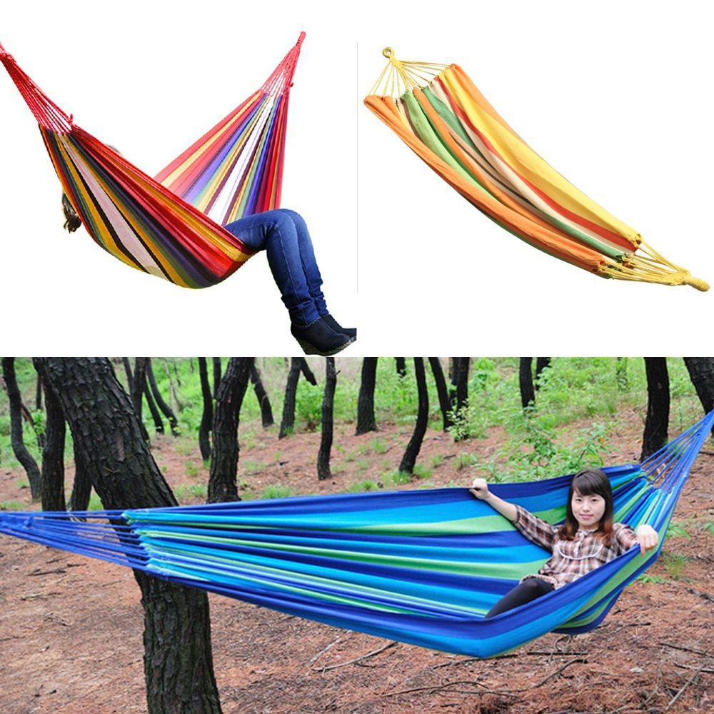 Swing Hanging Chair Outdoor 380G M2 Canvas Garden Hammock 270261-270262 New(China (Mainland))