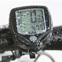 New 100% Wireless LCD Bike Cateye Bicycle Cycle Computer Odometer Speedometer Waterproof Stopwatch Ant Sensor