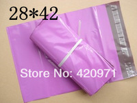 28cm*42cm 100% New PE Material Degradable Courier  Bags Damaging seal Polyethylene Bags Poly Mail bags  free Shipping