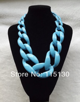 2014 New Statement Chunky Choker Necklaces & Pendants Exaggerated Big Chain Collar Necklace Women Fashion Jewelry Wholesale