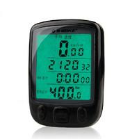 Inbike Computer Accessories Waterproof  Stopwatch Bike Computer Odometer Speedometer LCD Computer Odometer Waterproof Stopwatch