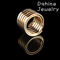 Cheap Jewelry 2014 New Fashion Ring Gold Wedding Rings For Women