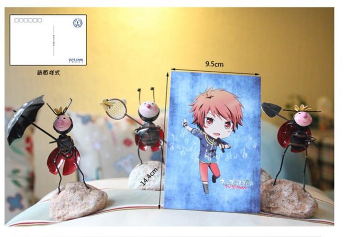"[Cute Card] ""song of his Royal Highness Prince"" Q version 7 postcards(China (Mainland))"