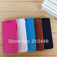 original lenovo S650 leather case(black/white/brown/blue/red),lenovo S650 flip case +lenovo S650 screen protector,free shipping