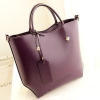 Bags 2014 women's genuine leather handbag bags fashion women's cowhide shoulder bag handbag large bag  Free shipping