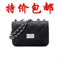 2014 small chain bag plaid bag shoulder chain fashion cross-body bag big bags rhombus women's handbag  Free shipping