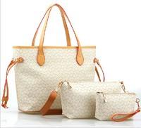 2014 women's handbag spring and autumn piece set picture package cross-body bag handbag bag women's fashion bag  Free shipping