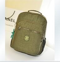 Fashion recessionista school bag waterproof backpack nylon double-shoulder travel backpack casual bag school bag female bags