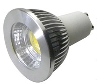 10pcs  dimmable gu10 spotlight degree 80  LED COB 5W 450LM 85v-265v AC UL, PSE, SAA,CE, Rohs Warm/Pure/Cool White