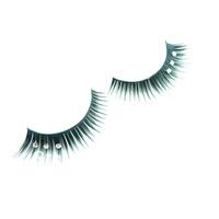 Prom party diamond multicolour false eyelashes artistic photography colorful eyelash extension Free Shipping