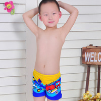 Child swimwear swimming trunks baby equipment male child boxer swimming trunk